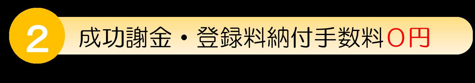 商標登録成功者金と商標登録納付手数料0円